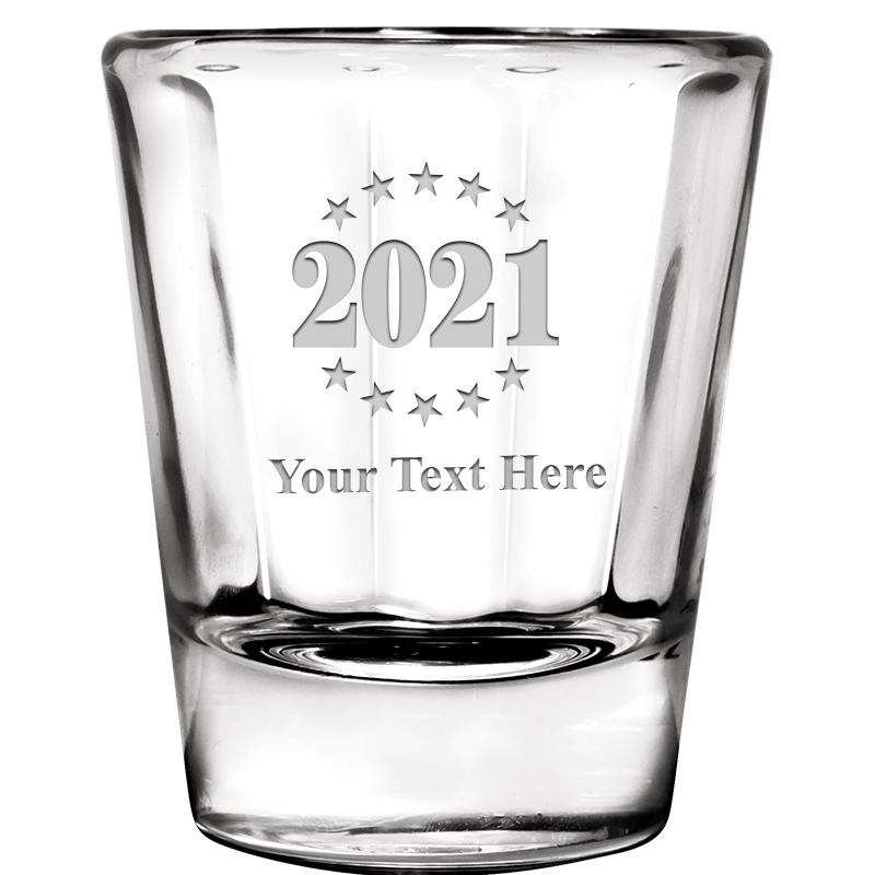 2 OZ IBIZA SHOT GLASS