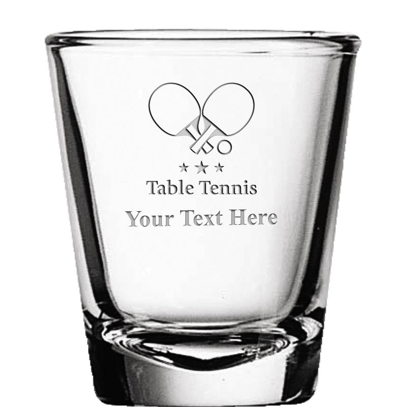Strange Table Tennis Glassware Crown Awards Home Interior And Landscaping Dextoversignezvosmurscom