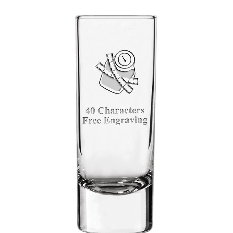 2.25oz SOIREE SHOT GLASS