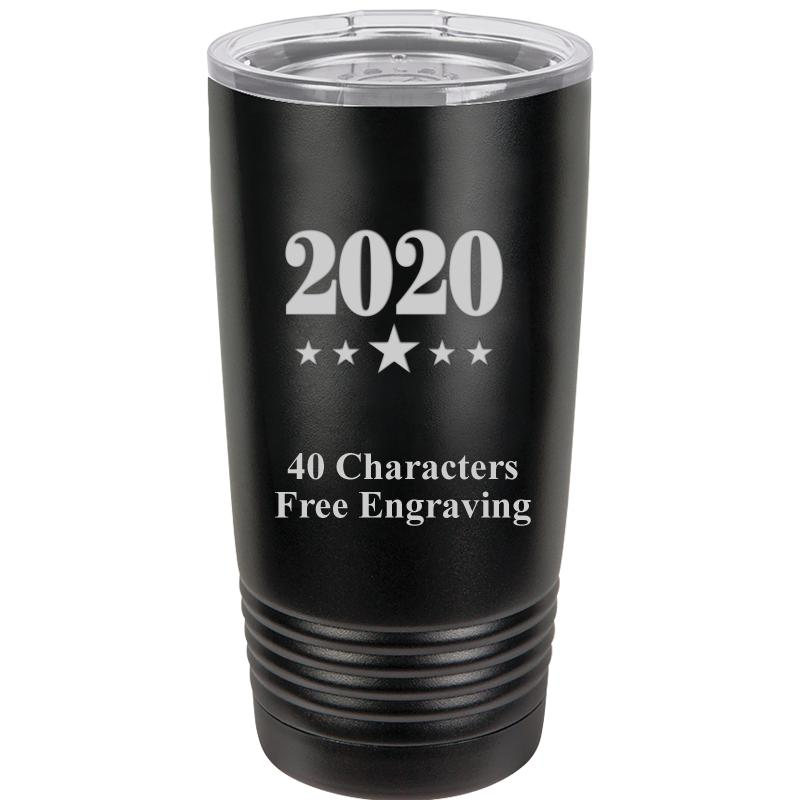 20OZ ALL BLACK TUMBLER