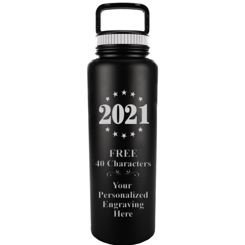 WATER BOTTLE 33.8OZ BLACK