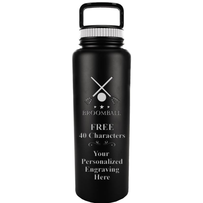 WATER BOTTLE 33.8OZ BLACK