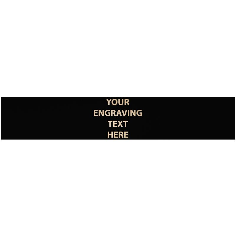 """ENGRAVE PLATE 5.50""""W X 1""""H"""