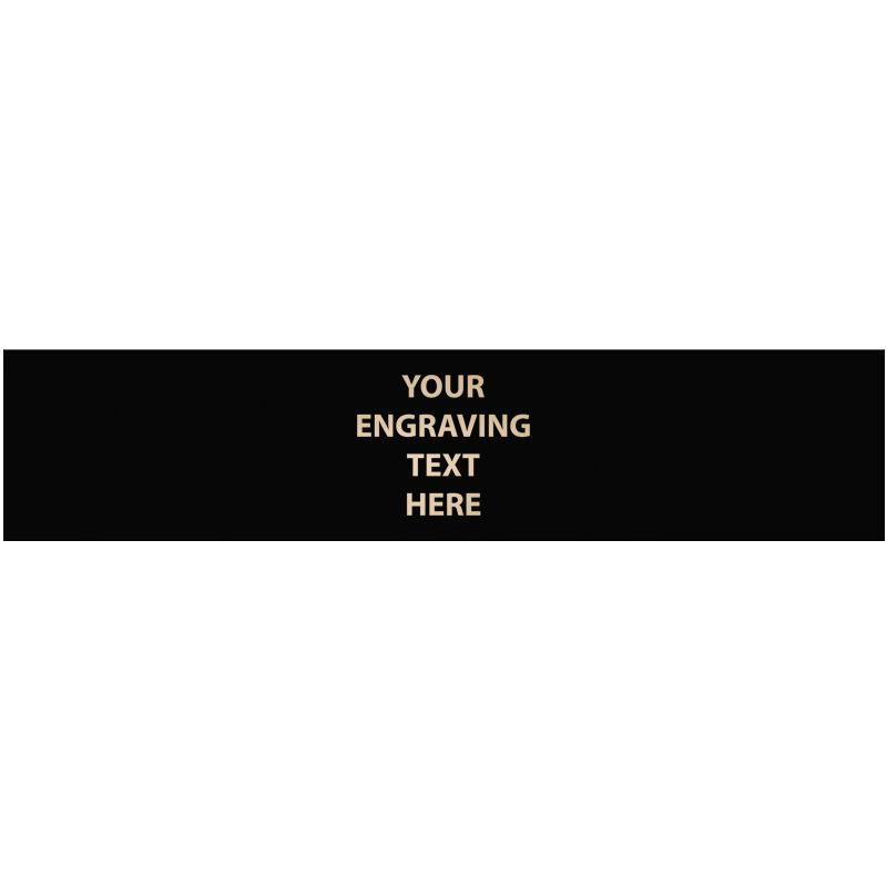 """ENGRAVE PLATE 5.75""""W X 1.25""""H"""