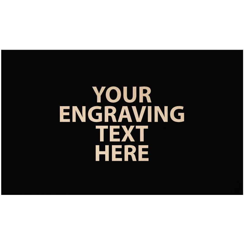 """ENGRAVE PLATE 2.50""""W X 1.50""""H"""