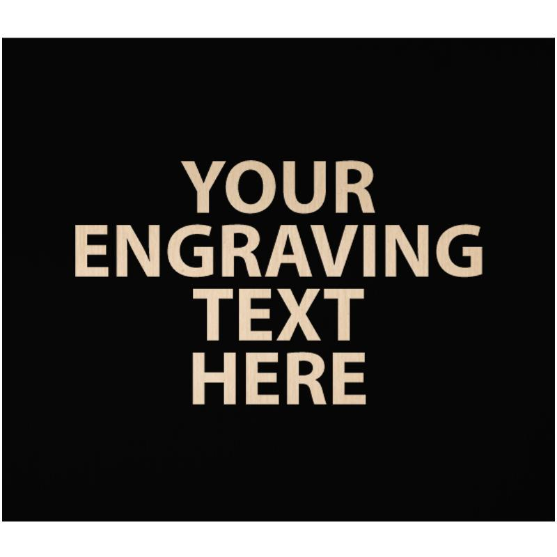 """ENGRAVE PLATE 2""""W X 1.75""""H"""