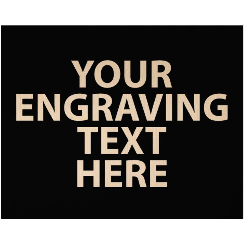 """ENGRAVE PLATE 2.50""""W X 2""""H"""