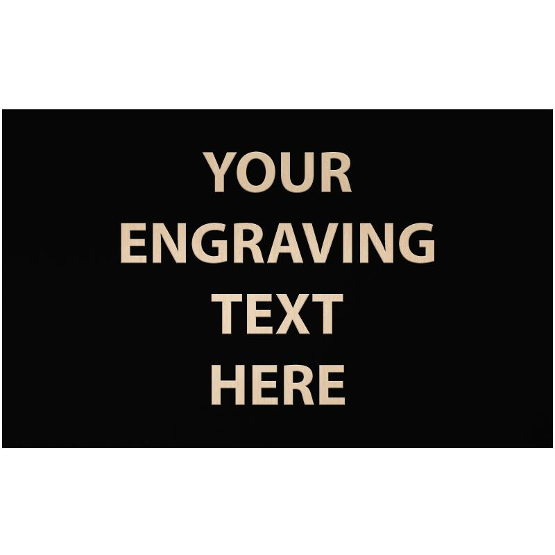 """ENGRAVE PLATE 3.25""""W X 2""""H"""