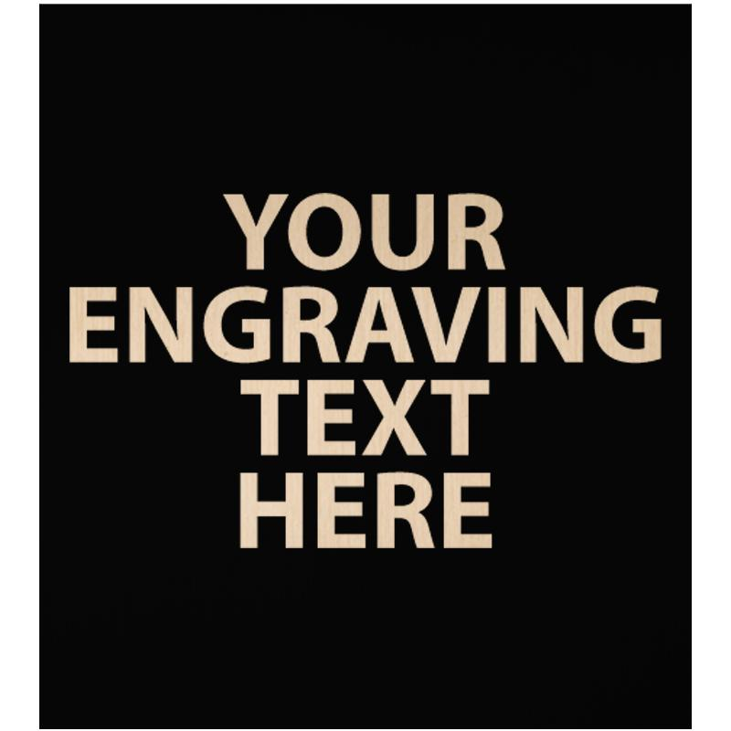 """ENGRAVE PLATE 2.25""""W X 2.50""""H"""