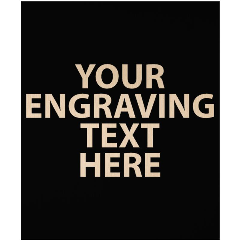 """ENGRAVE PLATE 3"""" X 2.50"""""""