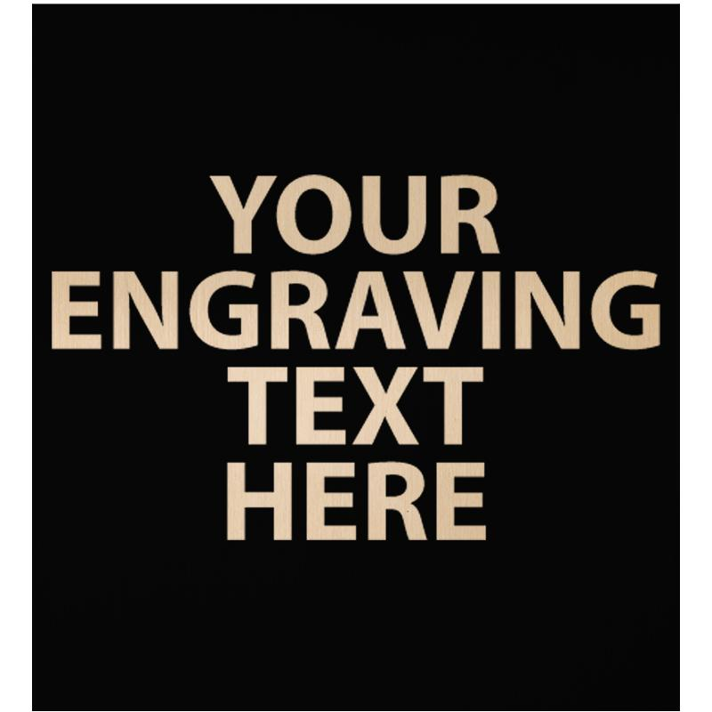 """ENGRAVE PLATE 3"""" X 2.75"""""""