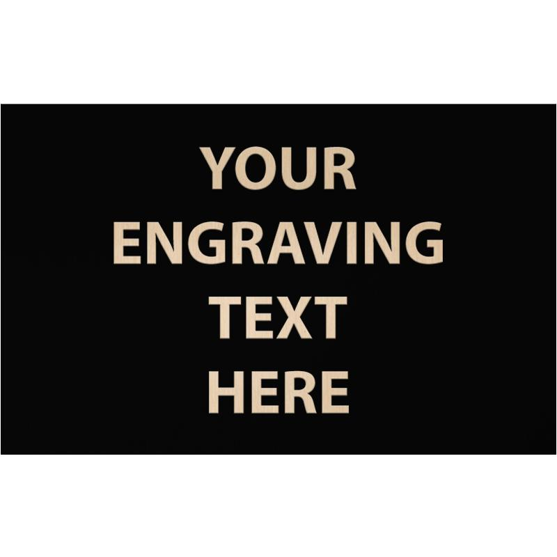 """ENGRAVE PLATE 3"""" X 4.75"""""""