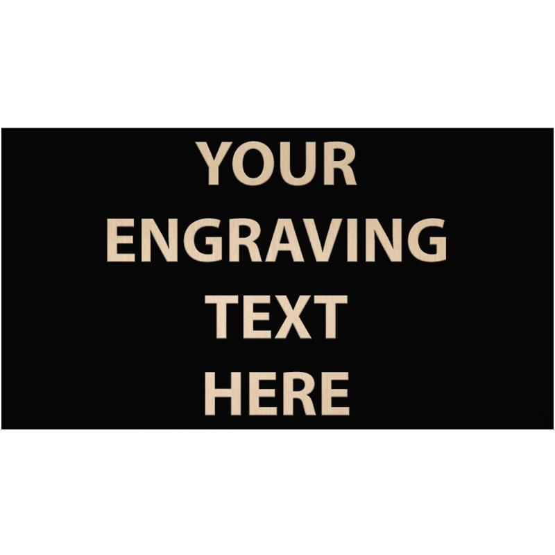 """ENGRAVE PLATE 3"""" X 5.50"""""""