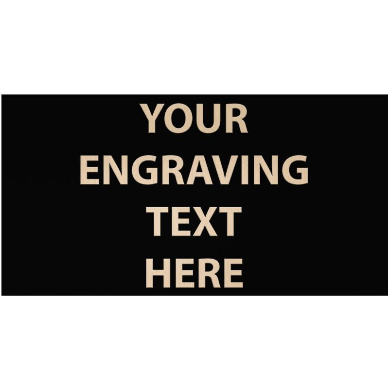 """ENGRAVE PLATE 3"""" X 5.75"""""""