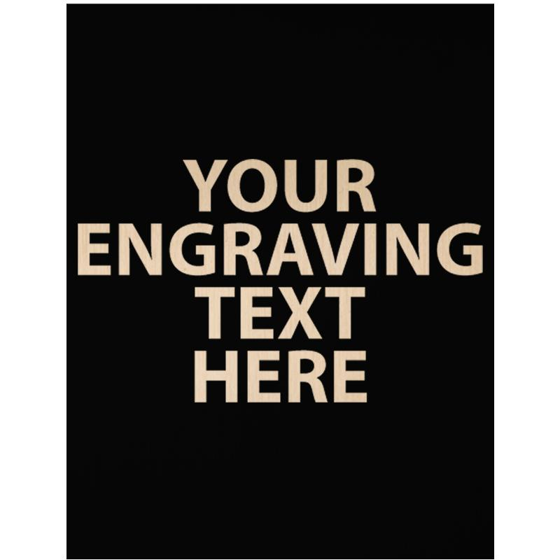 """ENGRAVE PLATE 3.25"""" X 2.50"""""""