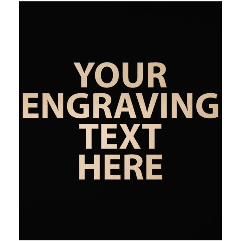 """ENGRAVE PLATE 3.25"""" X 2.75"""""""