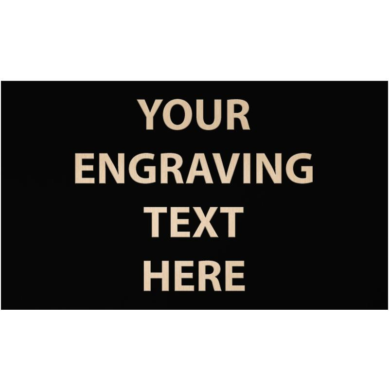 """ENGRAVE PLATE 5.50""""W X 3.25""""H"""
