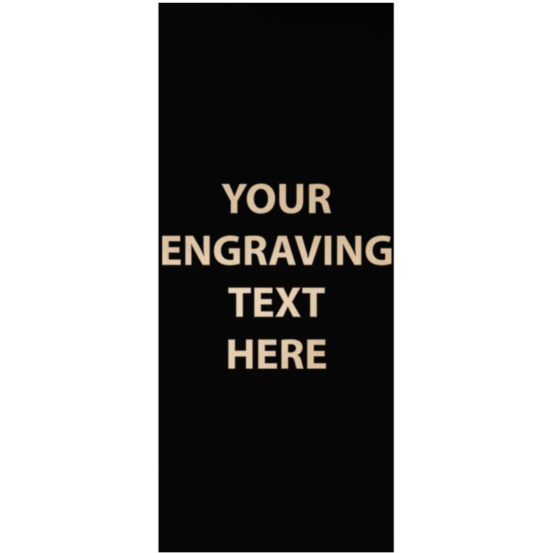 "ENGRAVE PLATE 3.50"" X 1.50"""