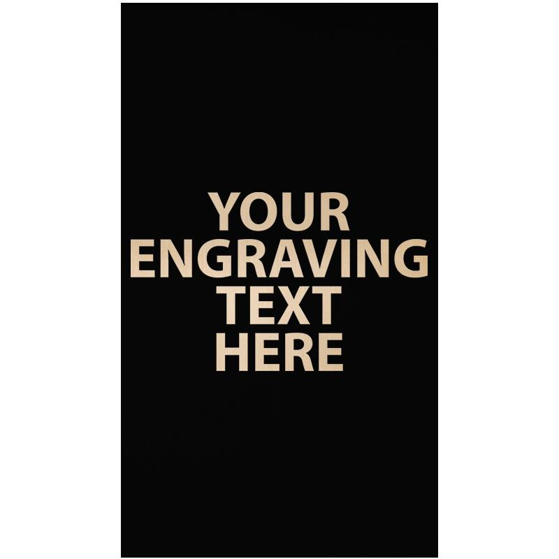 """ENGRAVE PLATE 3.50"""" X 2"""""""