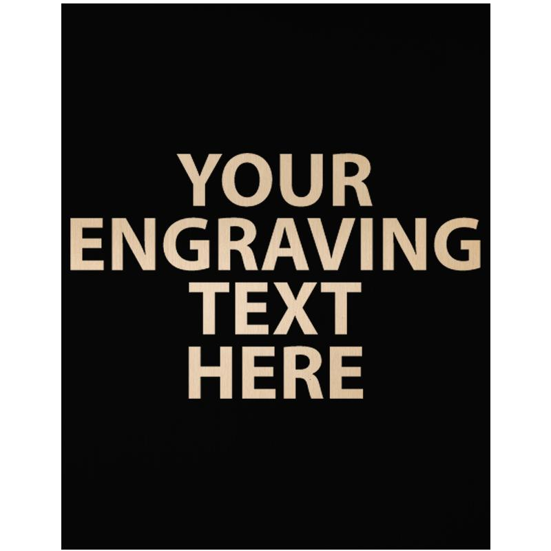 """ENGRAVE PLATE 3.50"""" X 2.75"""""""