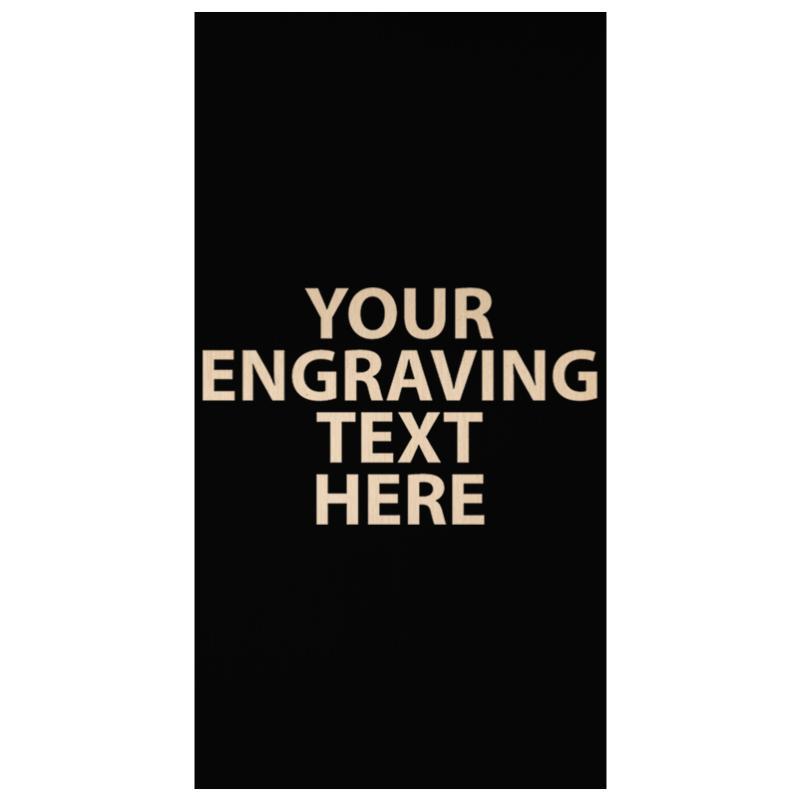 """ENGRAVE PLATE 4.25"""" X 2.25"""""""