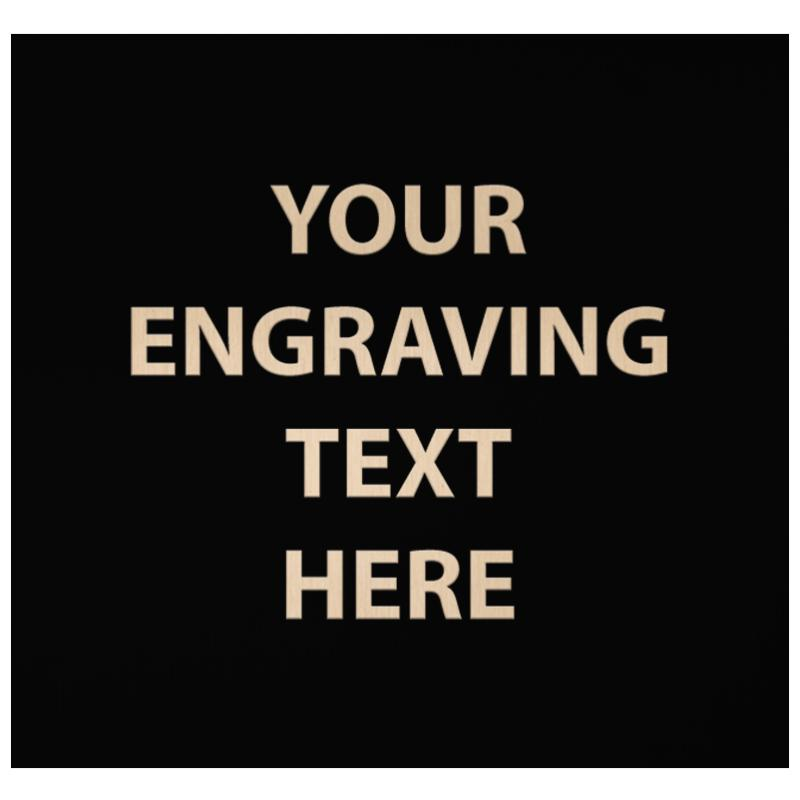 """ENGRAVE PLATE 4.25"""" X 4.50"""""""