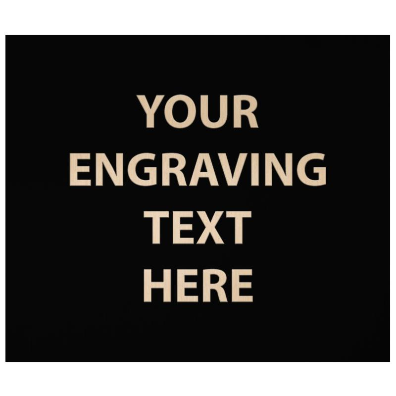 """ENGRAVE PLATE 4.25"""" X 5"""""""