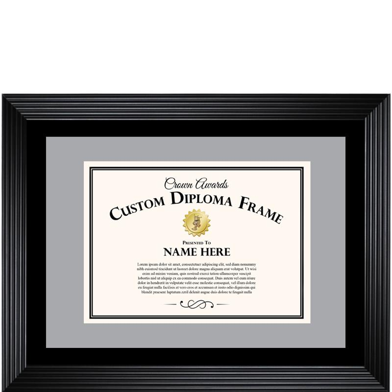 BASIC DIPLOMA FRAME BLACK