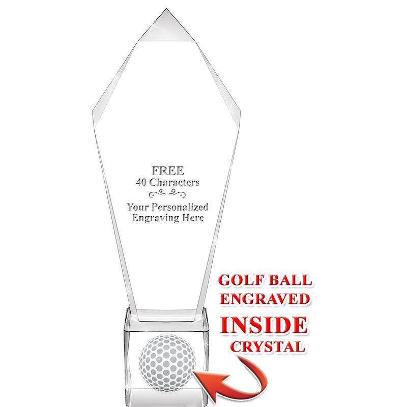 Ace Golf Ball Crystal