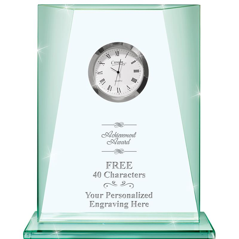 Emerald Southport Crystal Clock