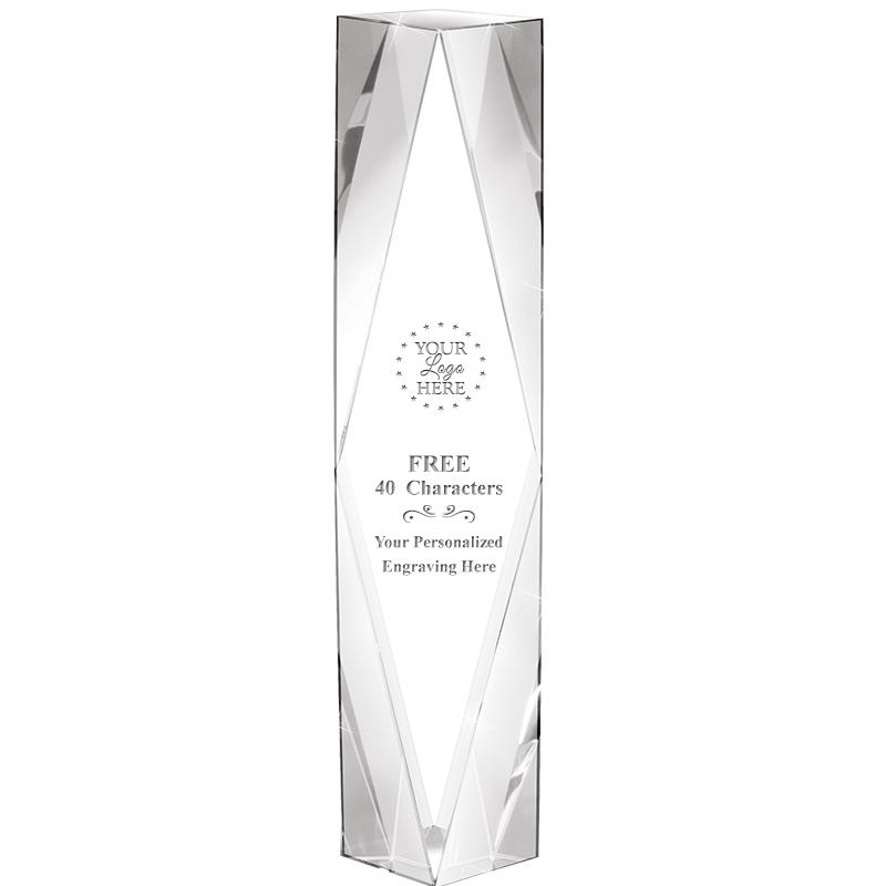"10"" GEMINI CRYSTAL AWARD"