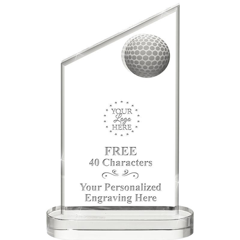 Inlaid Golf Crystals