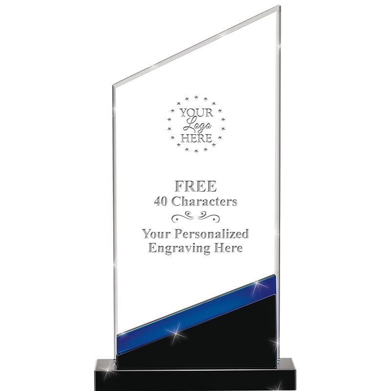 Sapphire Intensity Crystal Award