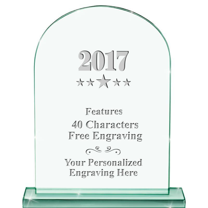 Jade Keystone Crystal Award