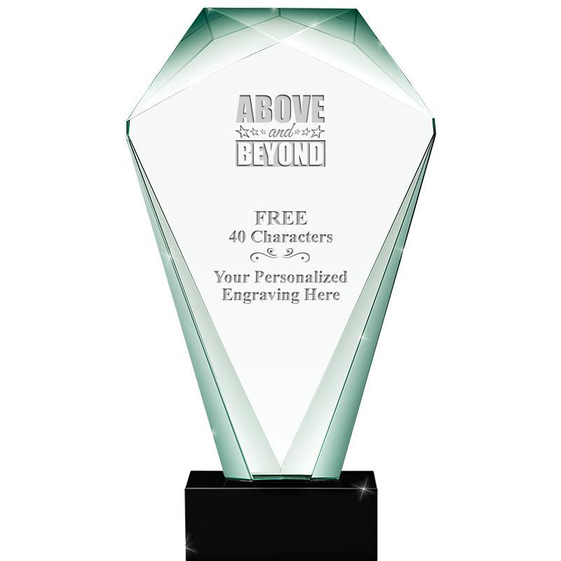 JADE SHRINE CRYSTAL AWARD