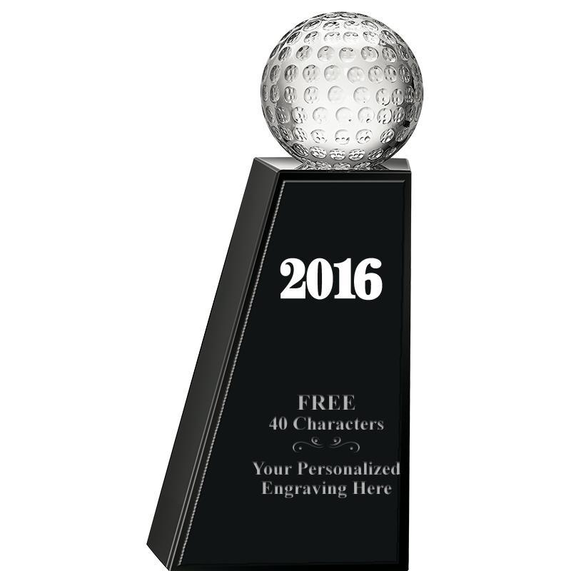 Monumental Golf Crystal