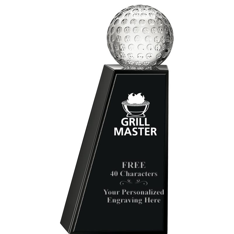 "8"" MONUMENTAL GOLF CRYSTAL"