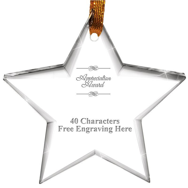 Star Crystal Ornament