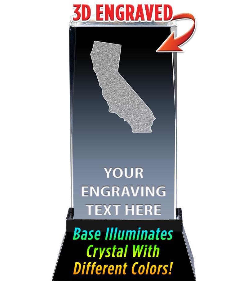 CALIFORNIA LASER CUT CRYSTAL