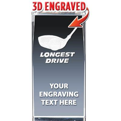 Longest Drive Crystal Trophy