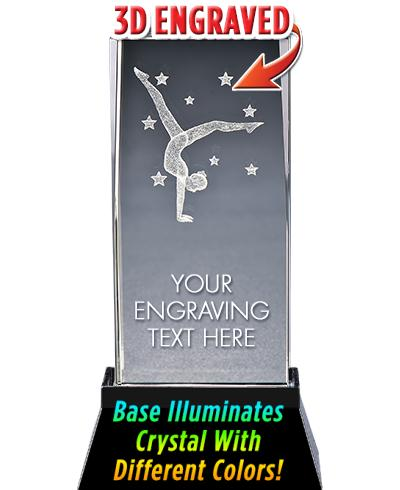 Gymnastics Crystal Trophy