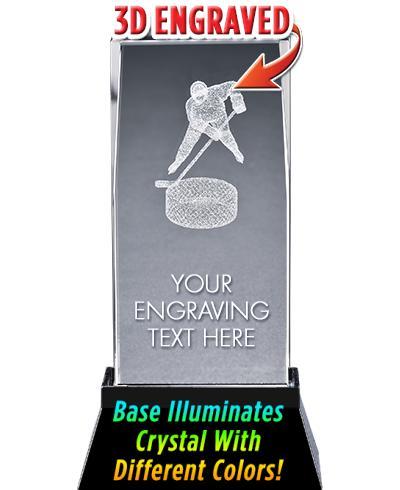 Hockey Crystal Trophy
