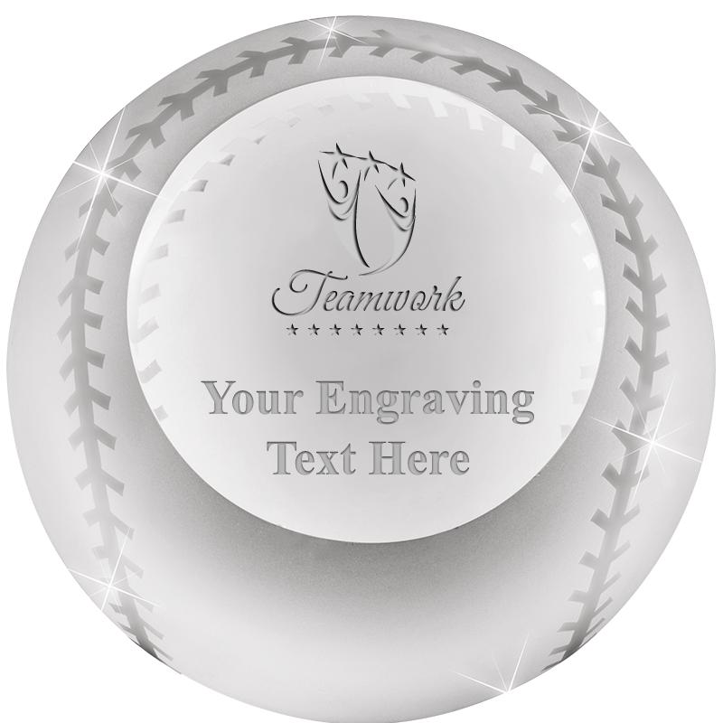 BASEBALL  PAPERWEIGHT