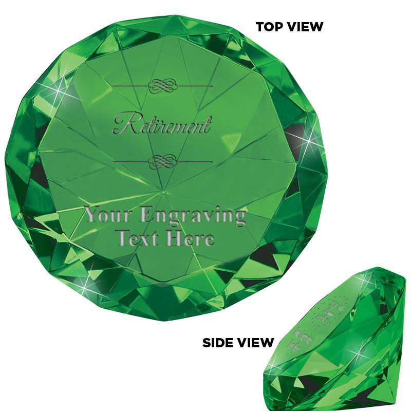 EMERALD 80CT DIAMOND PPRWEIGHT