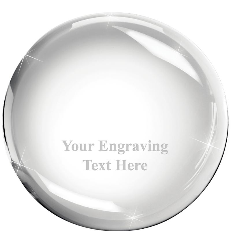 Dome Crystal Paperweight