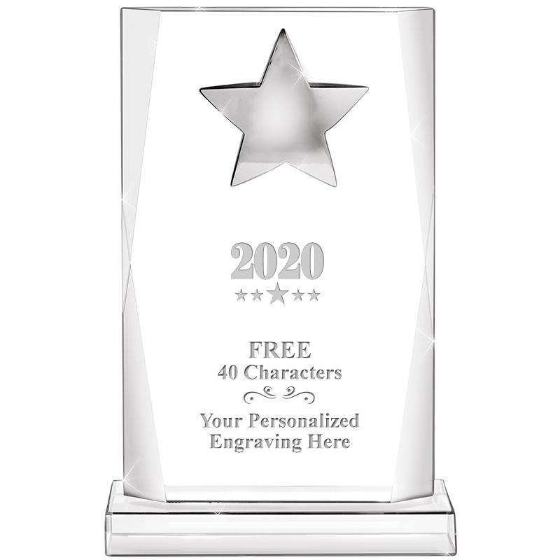 "9.25"" PRESTIGE STAR CRYSTAL"