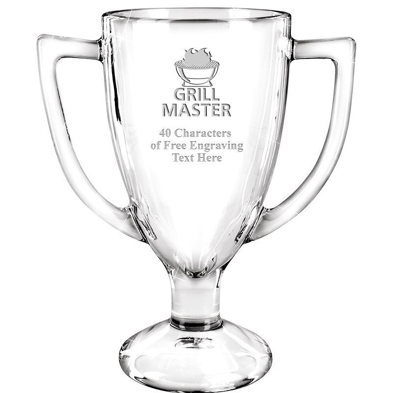 """7"""" WINNER GLASS TROPHY"""