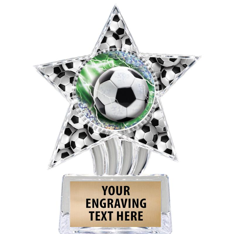 COSMIC SOCCER ICICLE INS STAR