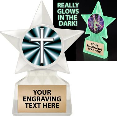 Insert Catholic School Trophies 5 34 Glow In The Dark Star