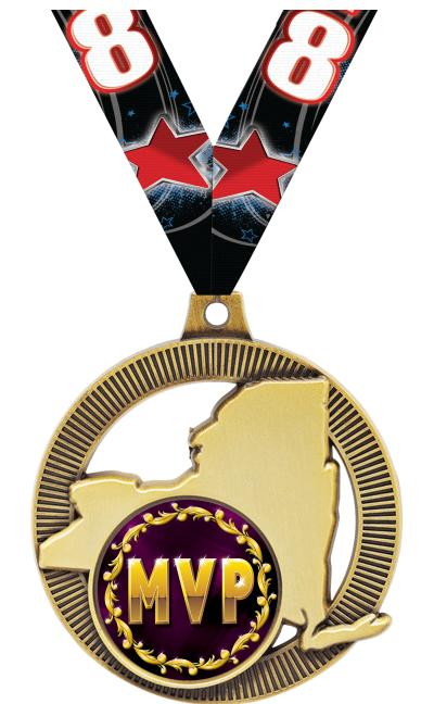 """2"""" New York State Insert Medals"""